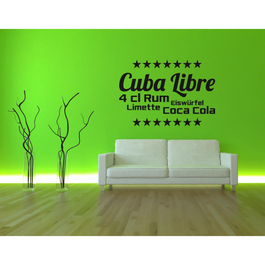 Wandtattoo Cuba Libre - TD16051
