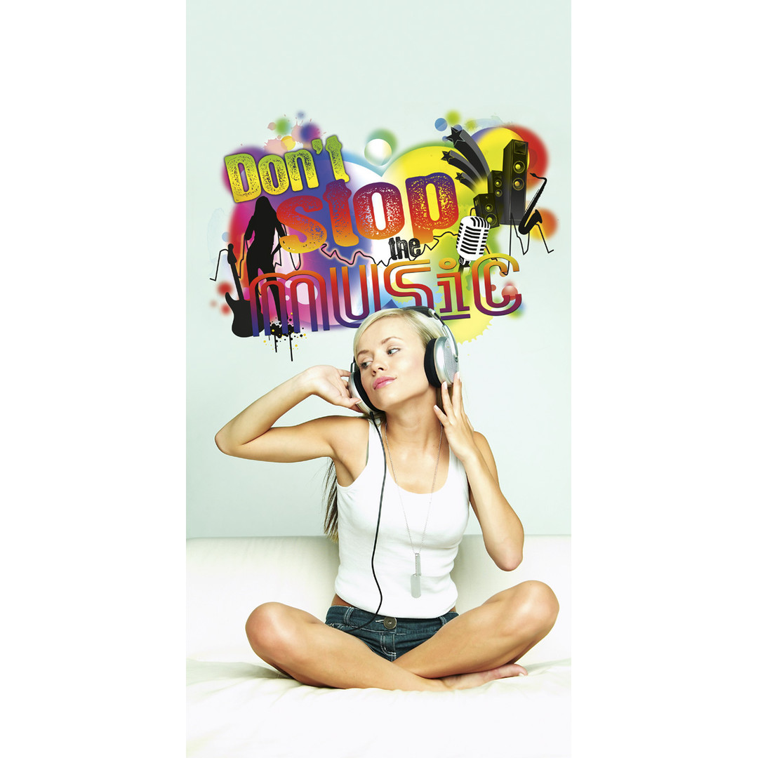 Wandsticker Don´t stop the music - KO17721h