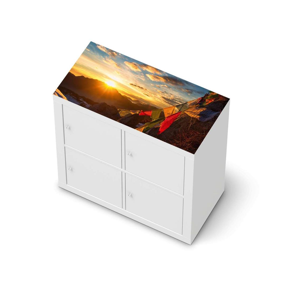 Möbelfolie IKEA Expedit Regal oben - Tibet - CR114680