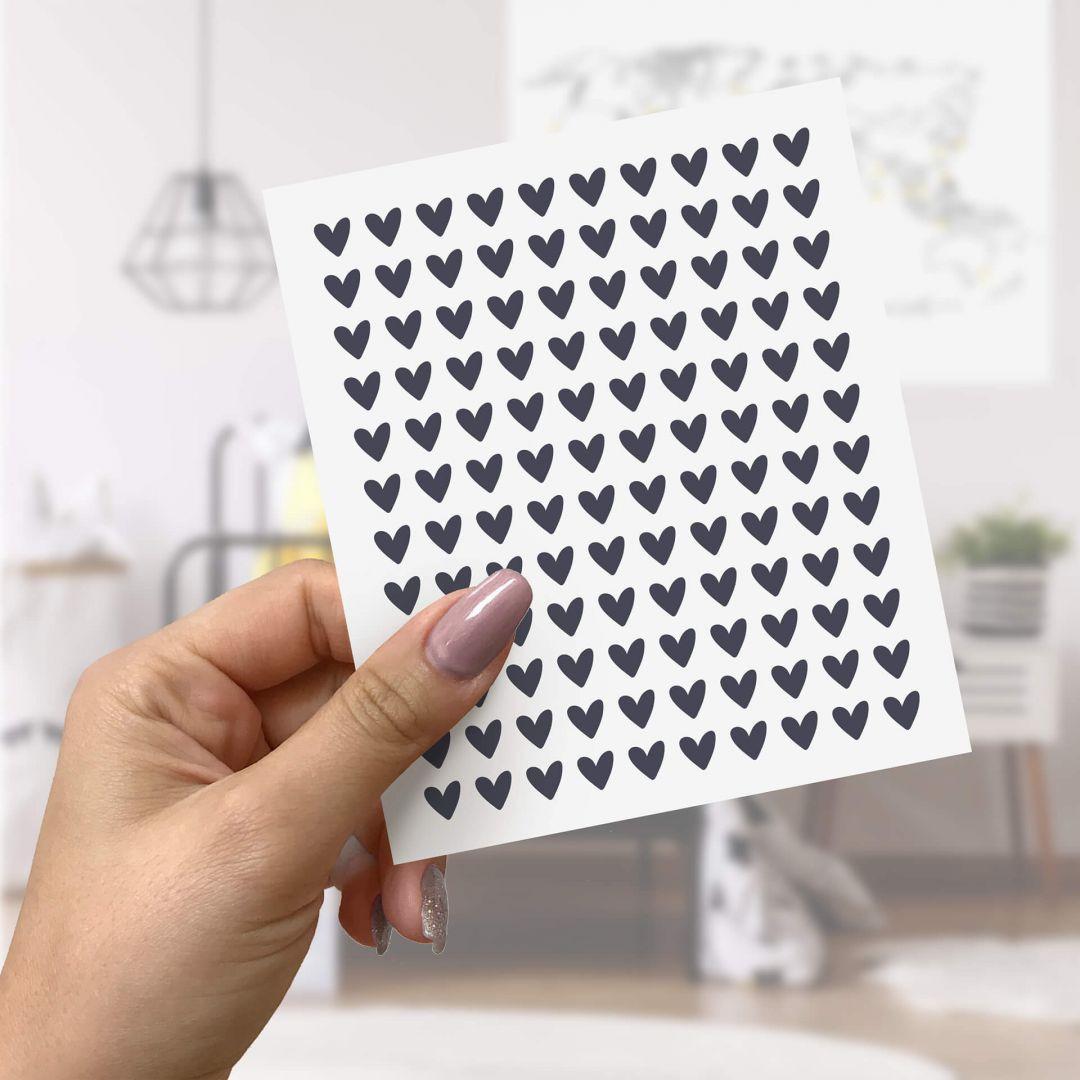 Wandtattoo Herzen (Ergänzungsset) - 14x17cm - WA260365