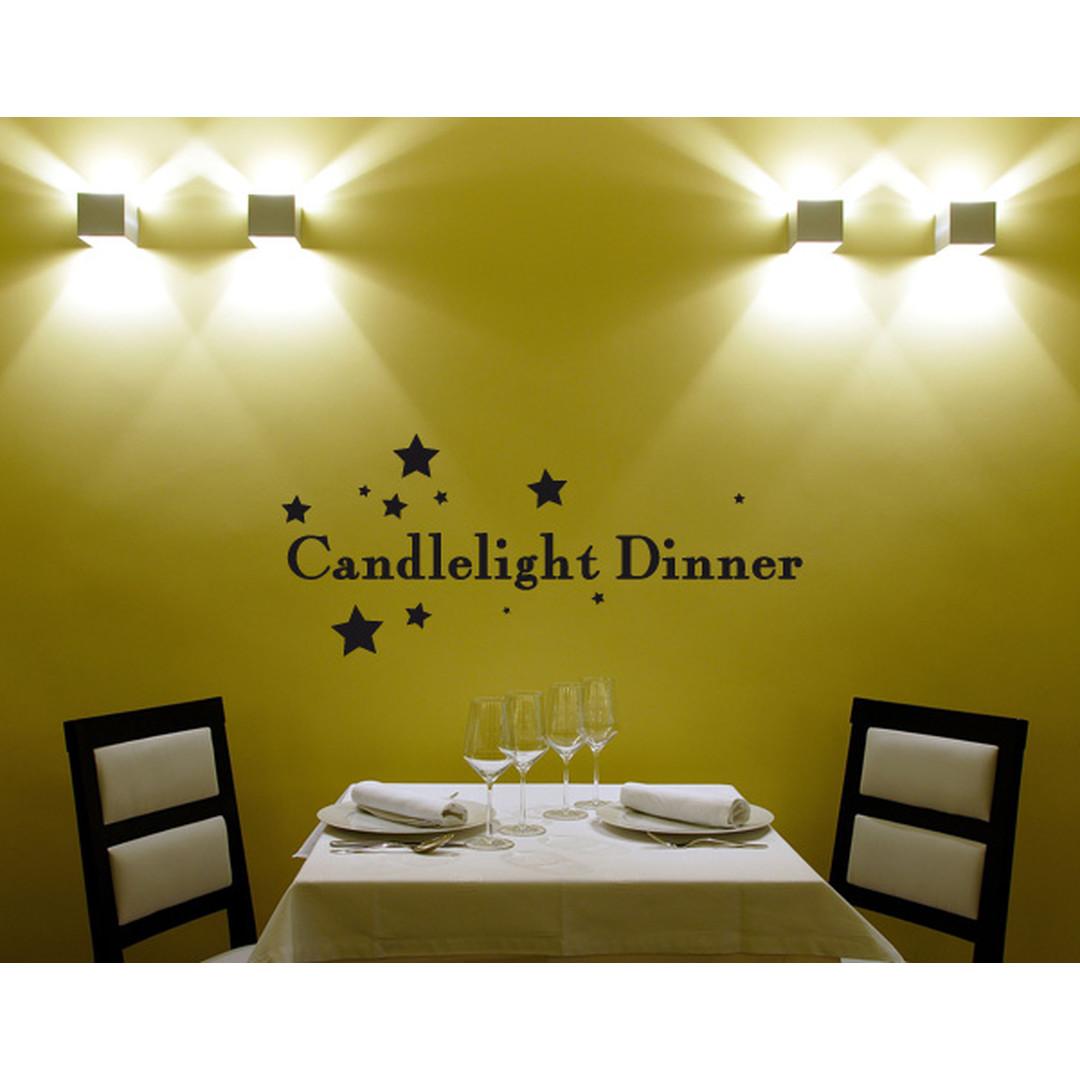 Wandtattoo Candlelight Dinner - TD16414