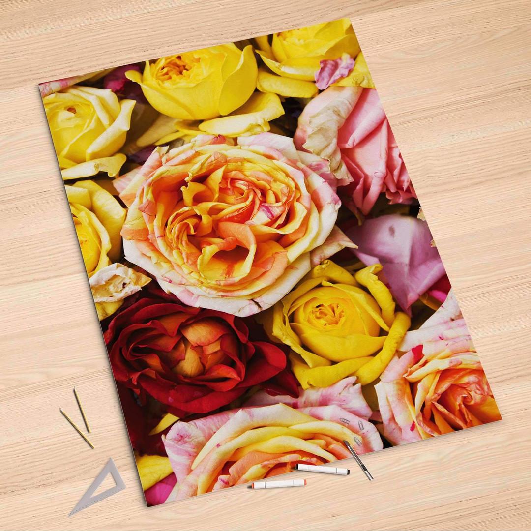 Folienbogen (100x150cm) - Yellow Rose - CR106317