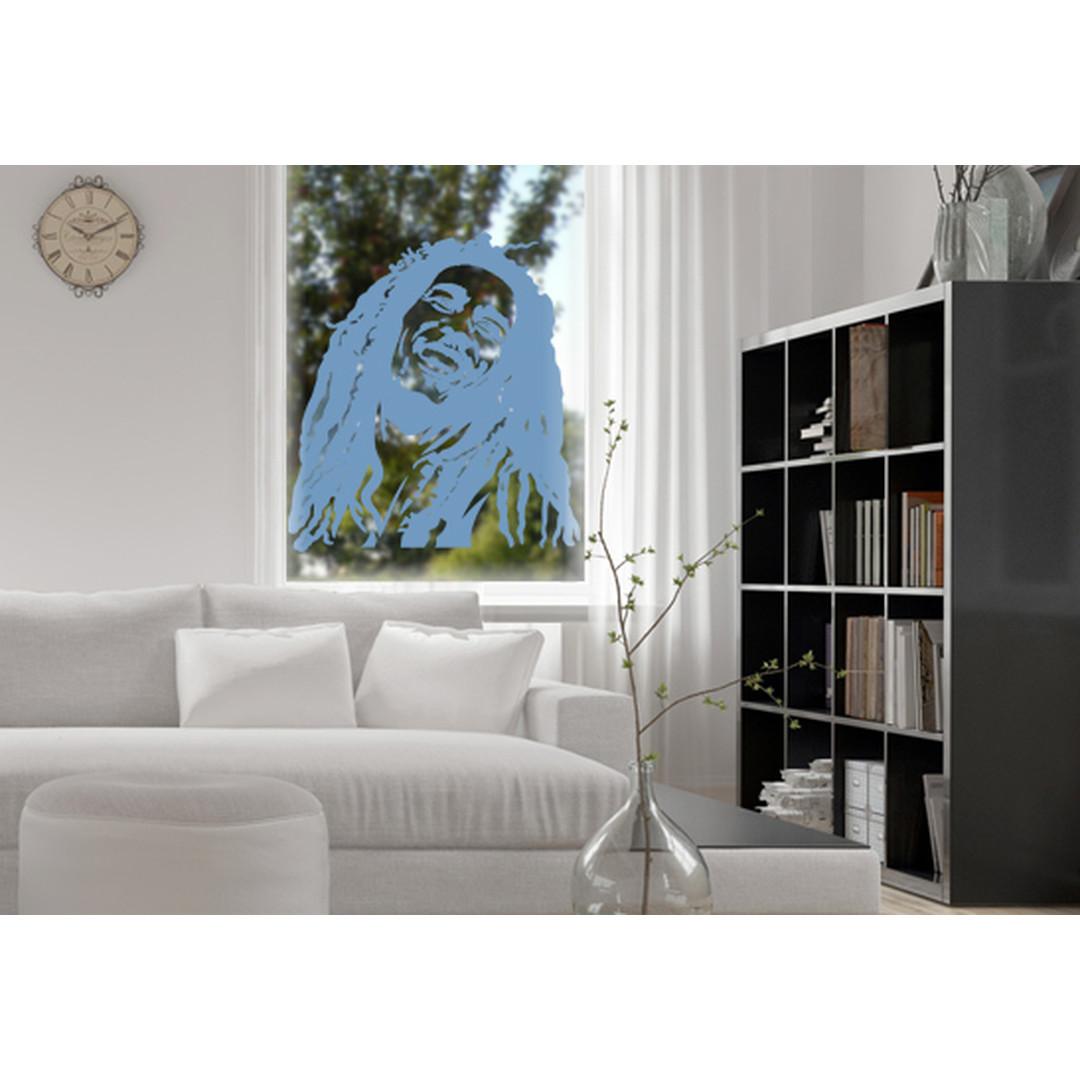 Glasdekor Bob Marley - CG10436