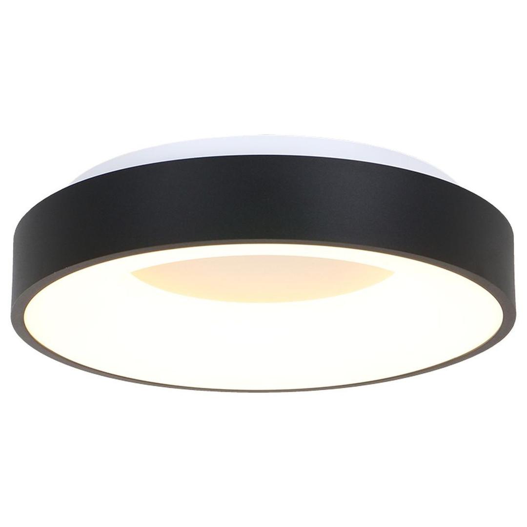 LED Deckenleuchte Ringlede in Schwarz und Weiss 30W 2800lm - CL130373