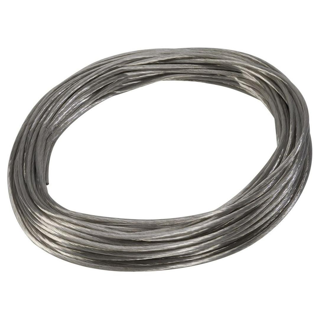 Tenseo Seilsystem, Niedervolt-Seil, 4 mm², chrom, 20 m - CL101942