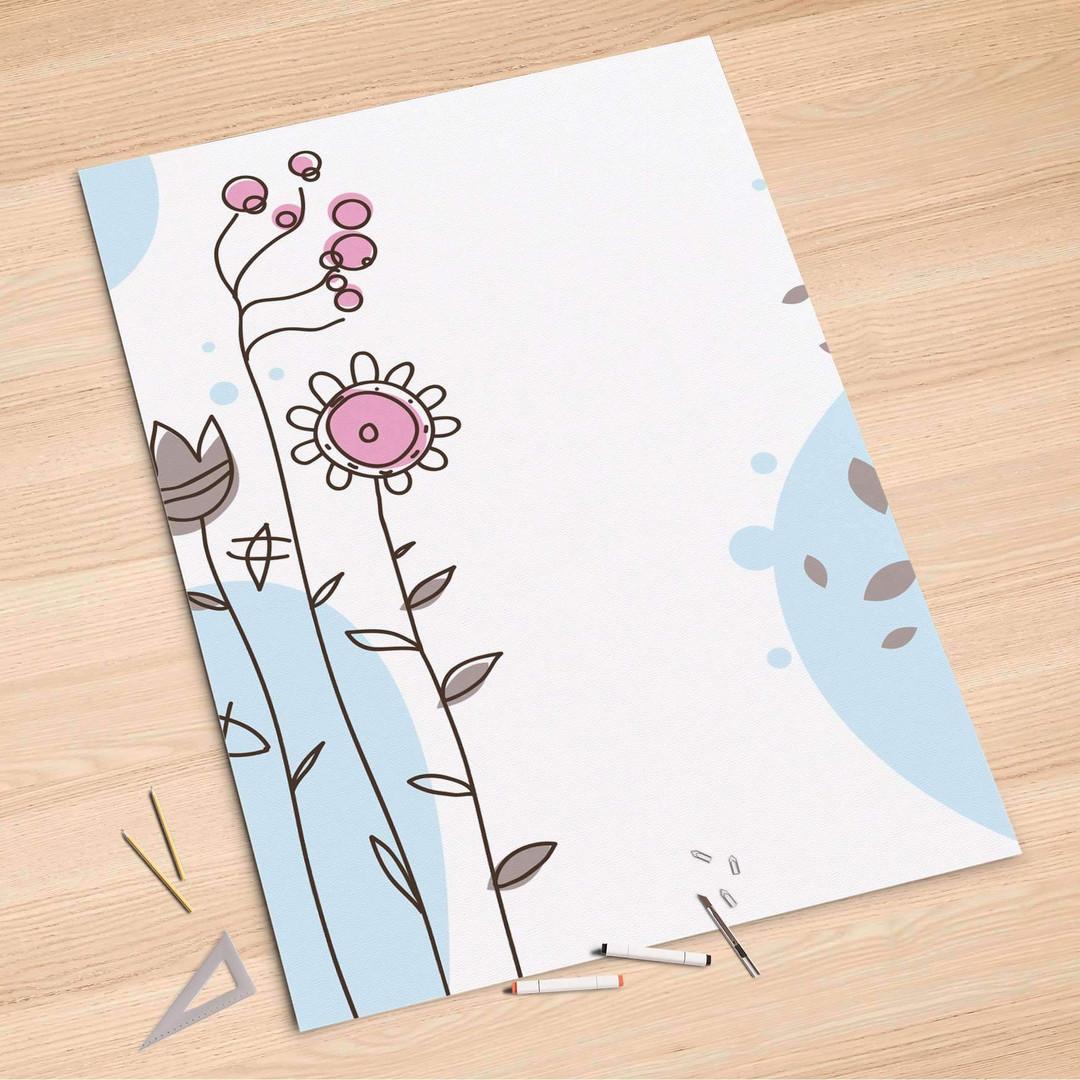 Folienbogen (100x150cm) - Flowers 3 - CR106171