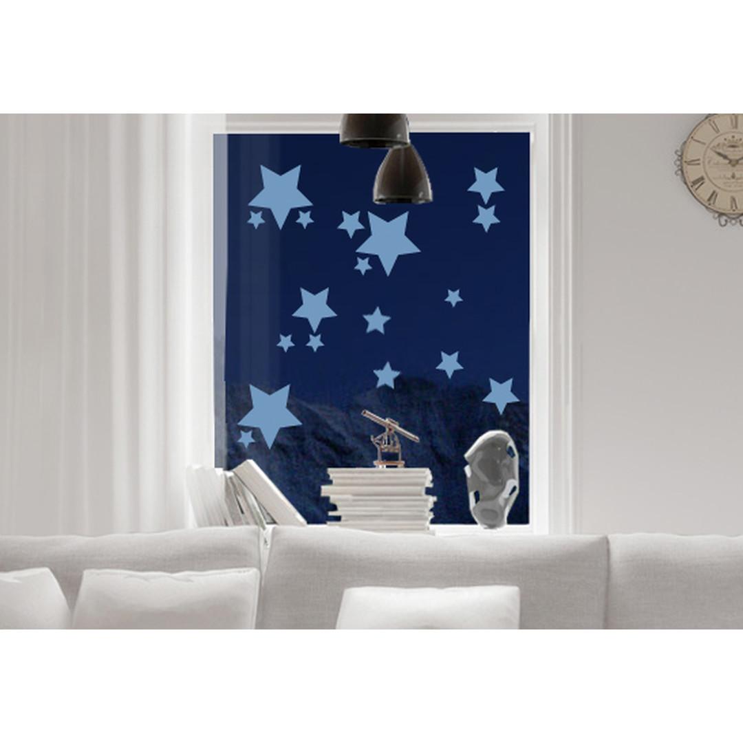 Glasdekor Funkelnde Sterne Set - CG10432