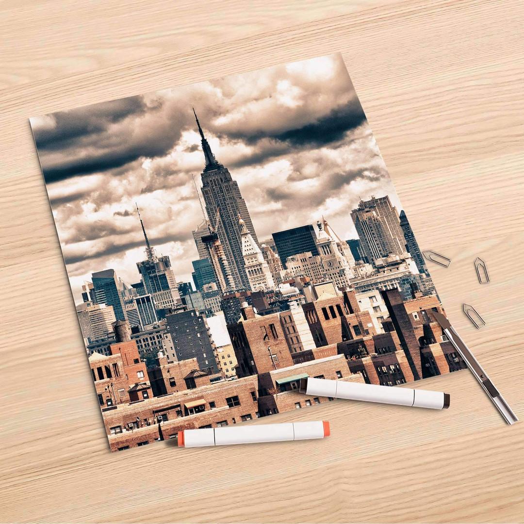 Folienbogen (30x30cm) - Skyline NYC - CR106938