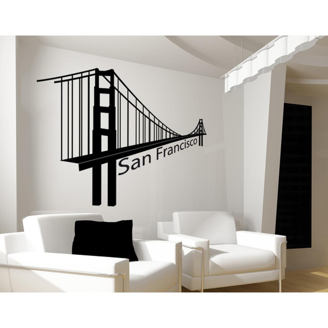 Wandtattoo San Francisco - TD16140