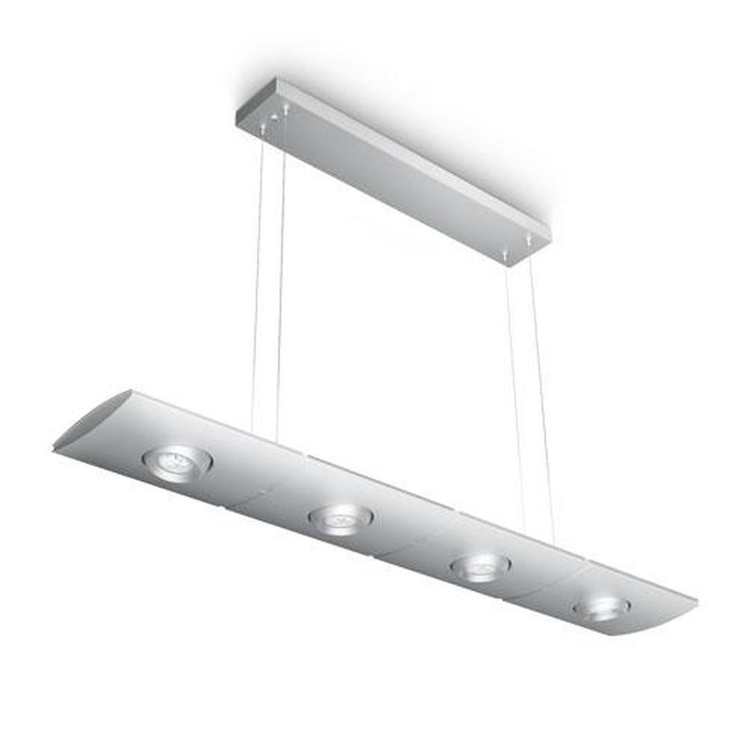 Elegante Roomstylers Elgar LED Pendelleuchte Aluminium - CL101840