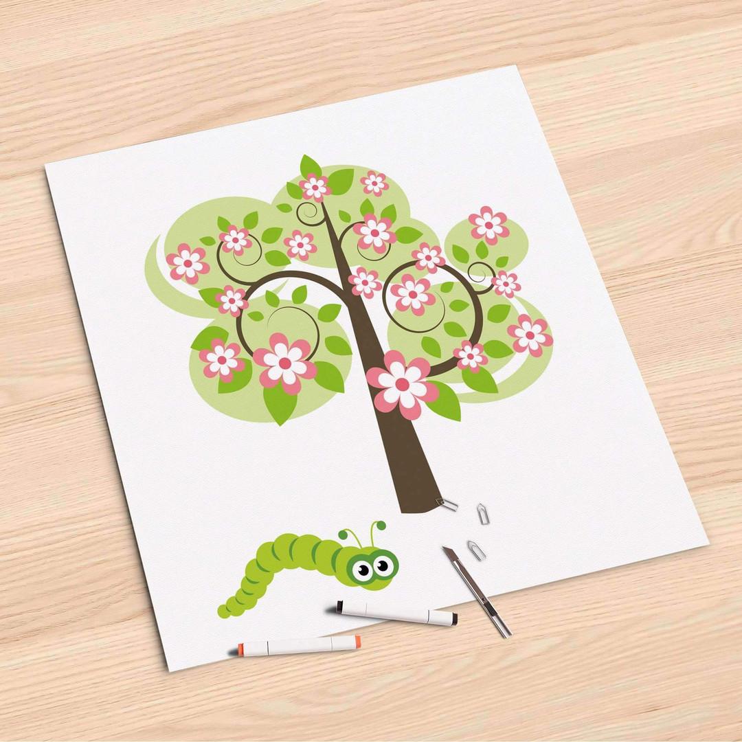 Folienbogen (60x60cm) - Blooming Tree - CR107028