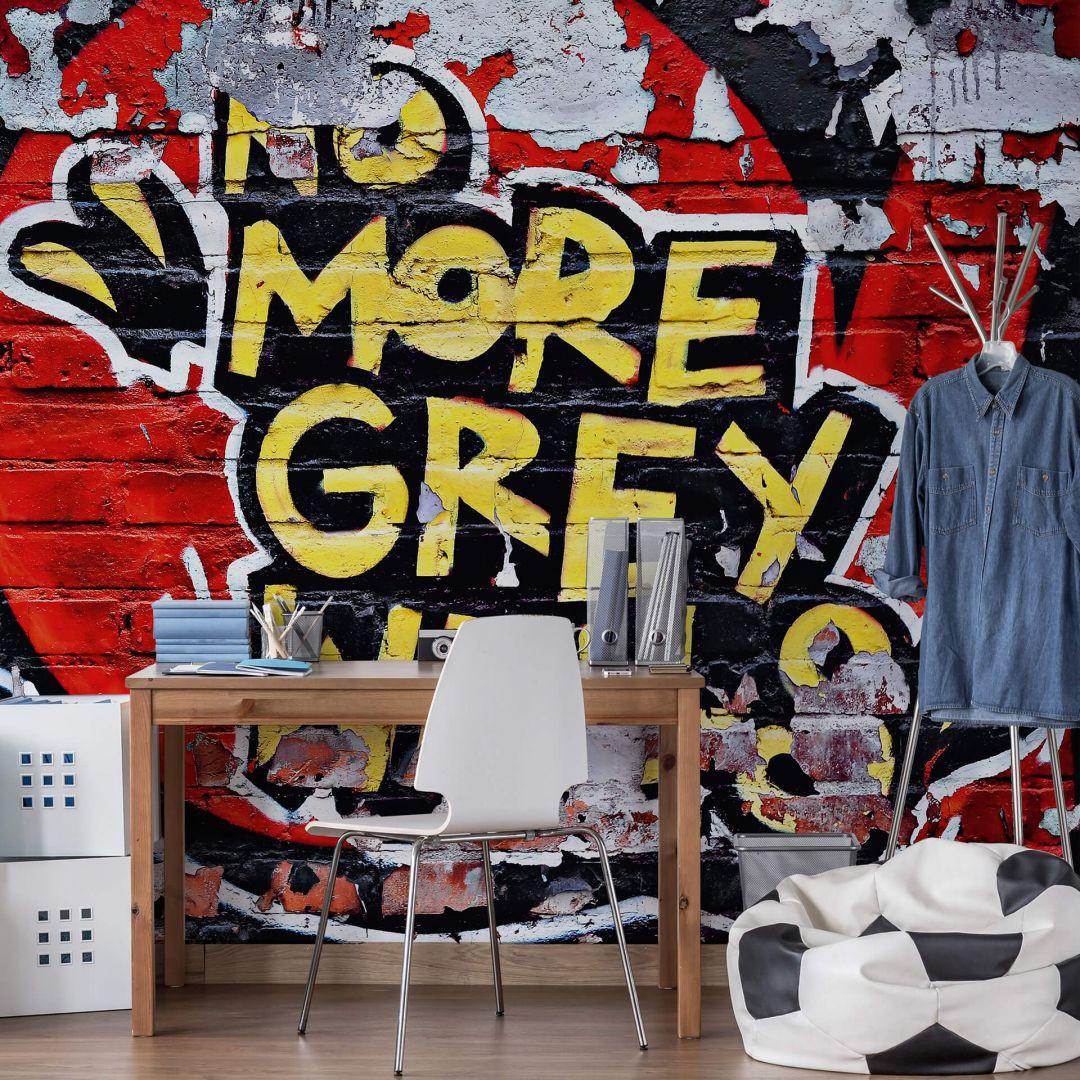 Fototapete Papiertapete No more grey Walls - WA271250
