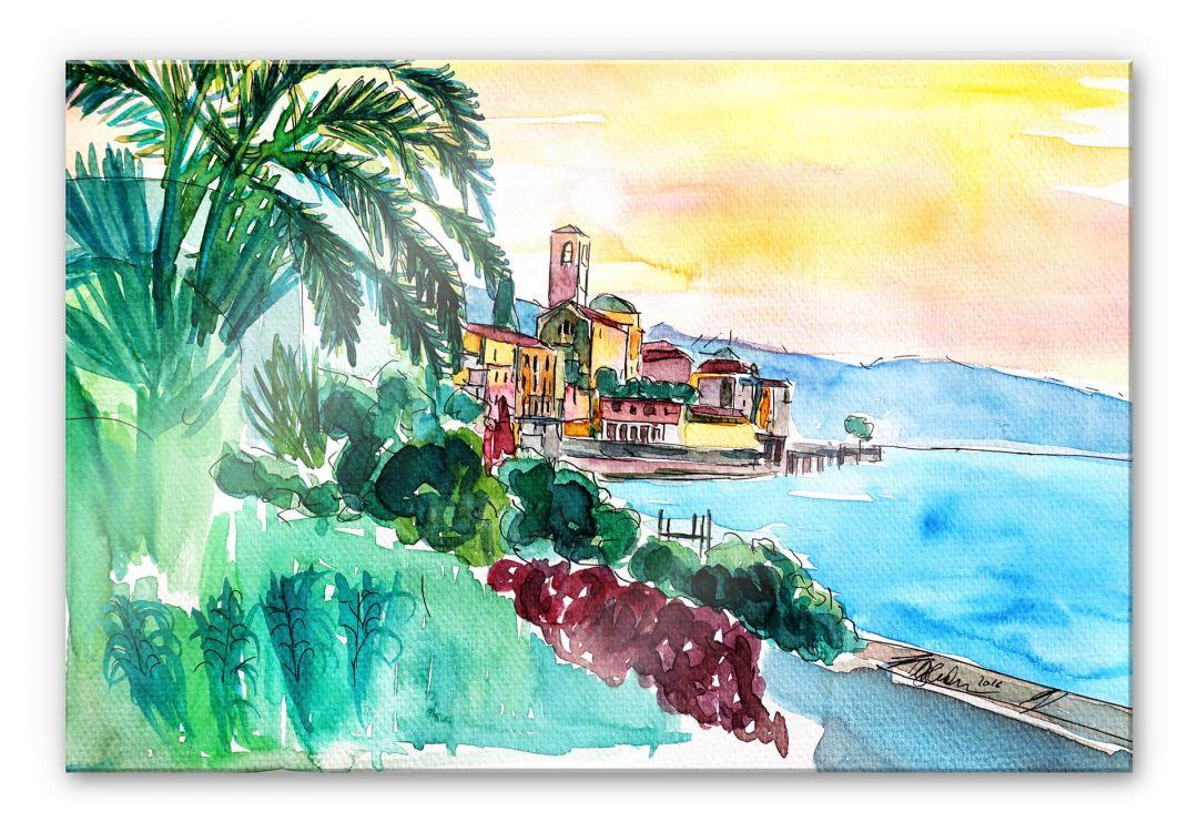 Acrylglasbild Bleichner - Wonderful Lago Maggiore - WA251561