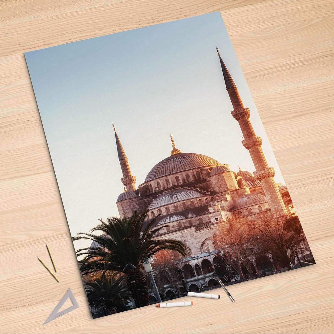 Folienbogen (100x150cm) - Blue Mosque - CR106127