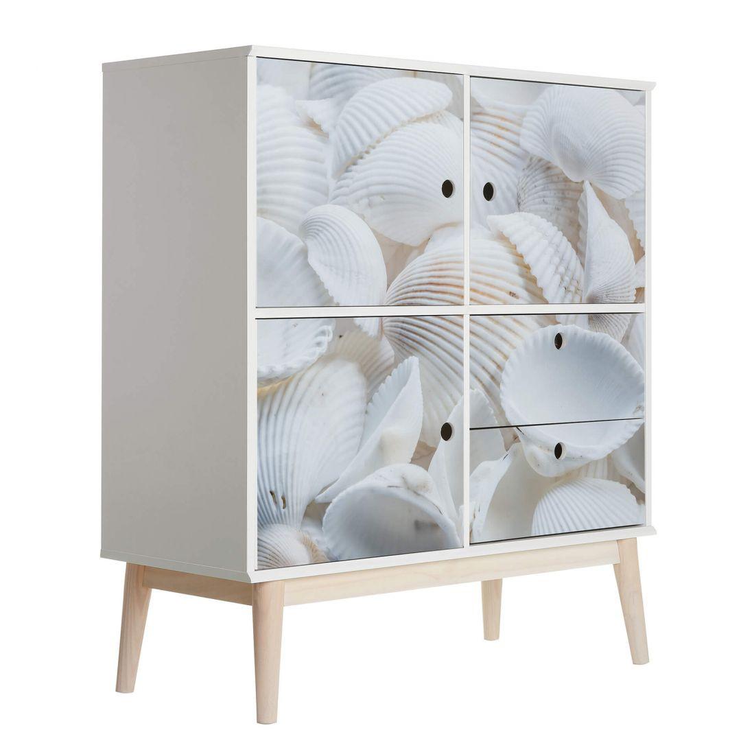 Möbelfolie Weisse Muscheln - WA256006