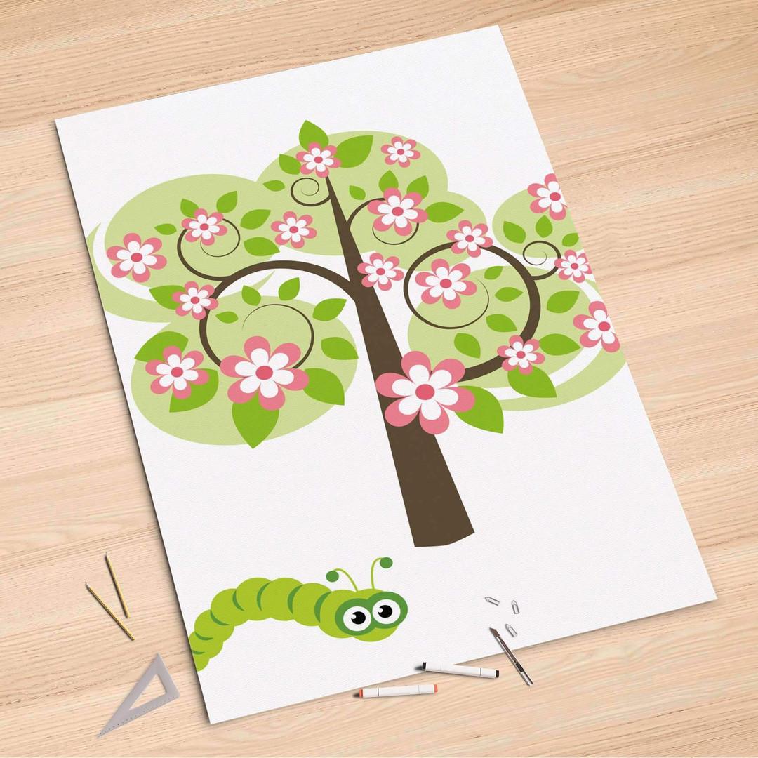 Folienbogen (100x150cm) - Blooming Tree - CR106125