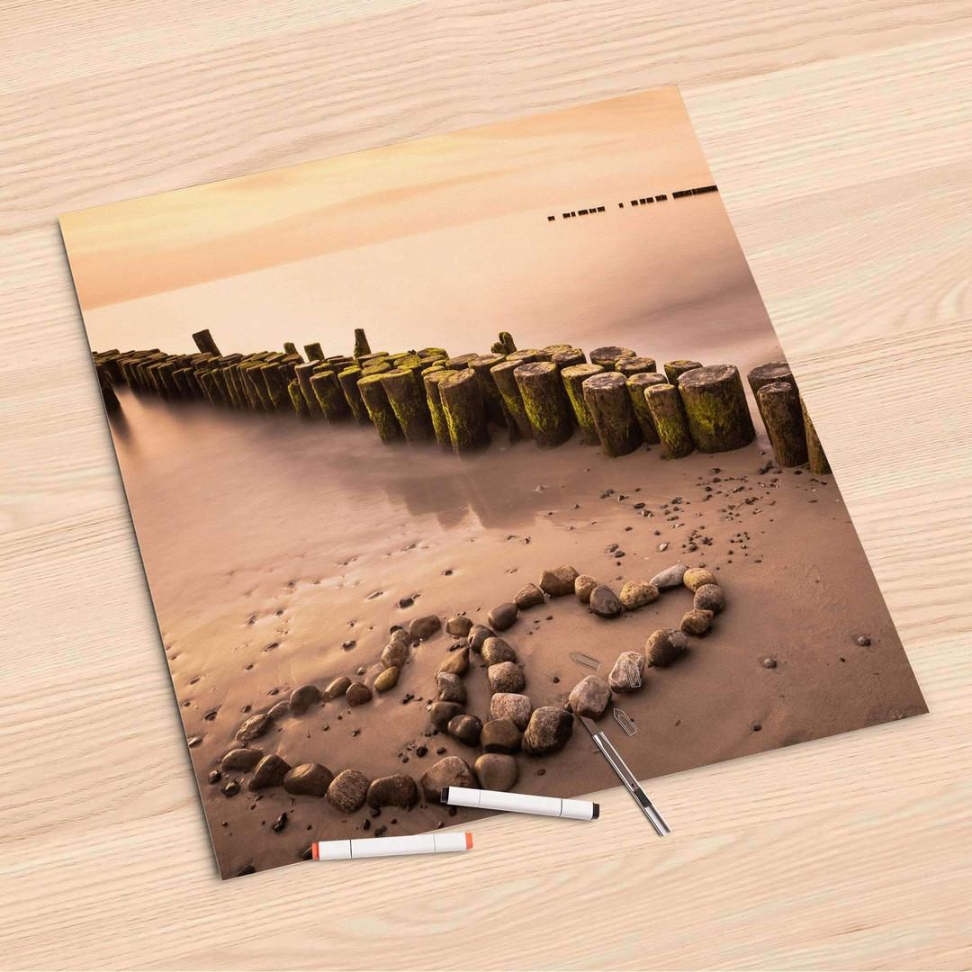 Folienbogen (60x60cm) - Beach Romance - CR107020
