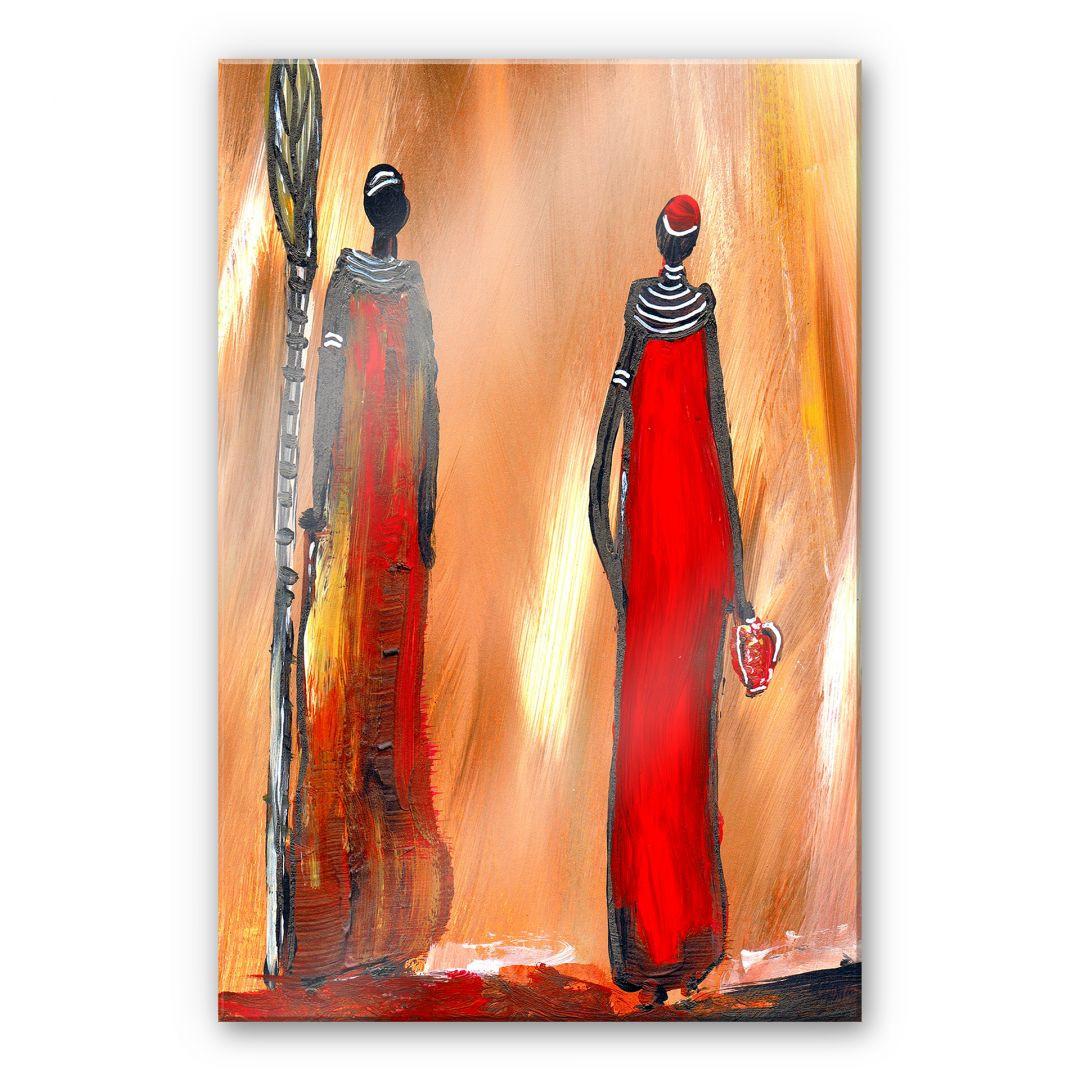 Acrylglasbild Niksic - Art of Africa - WA251836