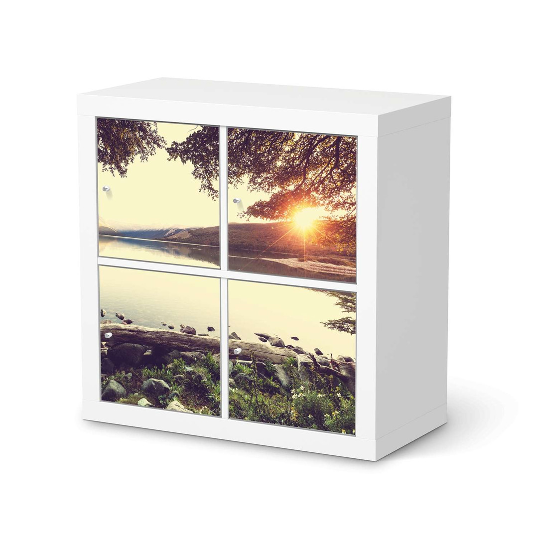 Möbelfolie IKEA Expedit Regal 4 Türen - Seaside Dreams - CR114584