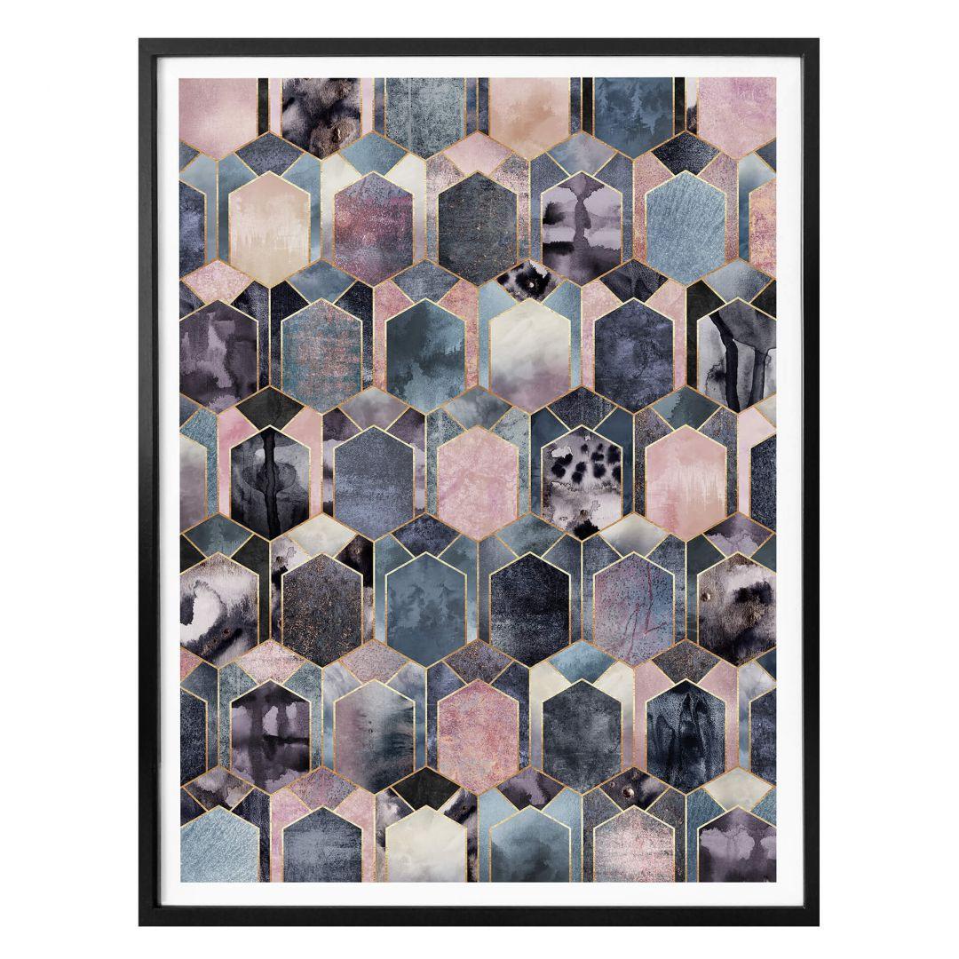Poster Fredriksson - Art Deco: Traum in Rosé und Gold - WA257411