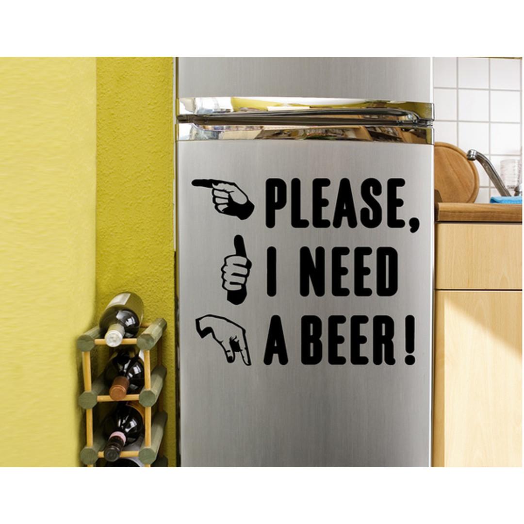 Wandtattoo A beer  - TD16378