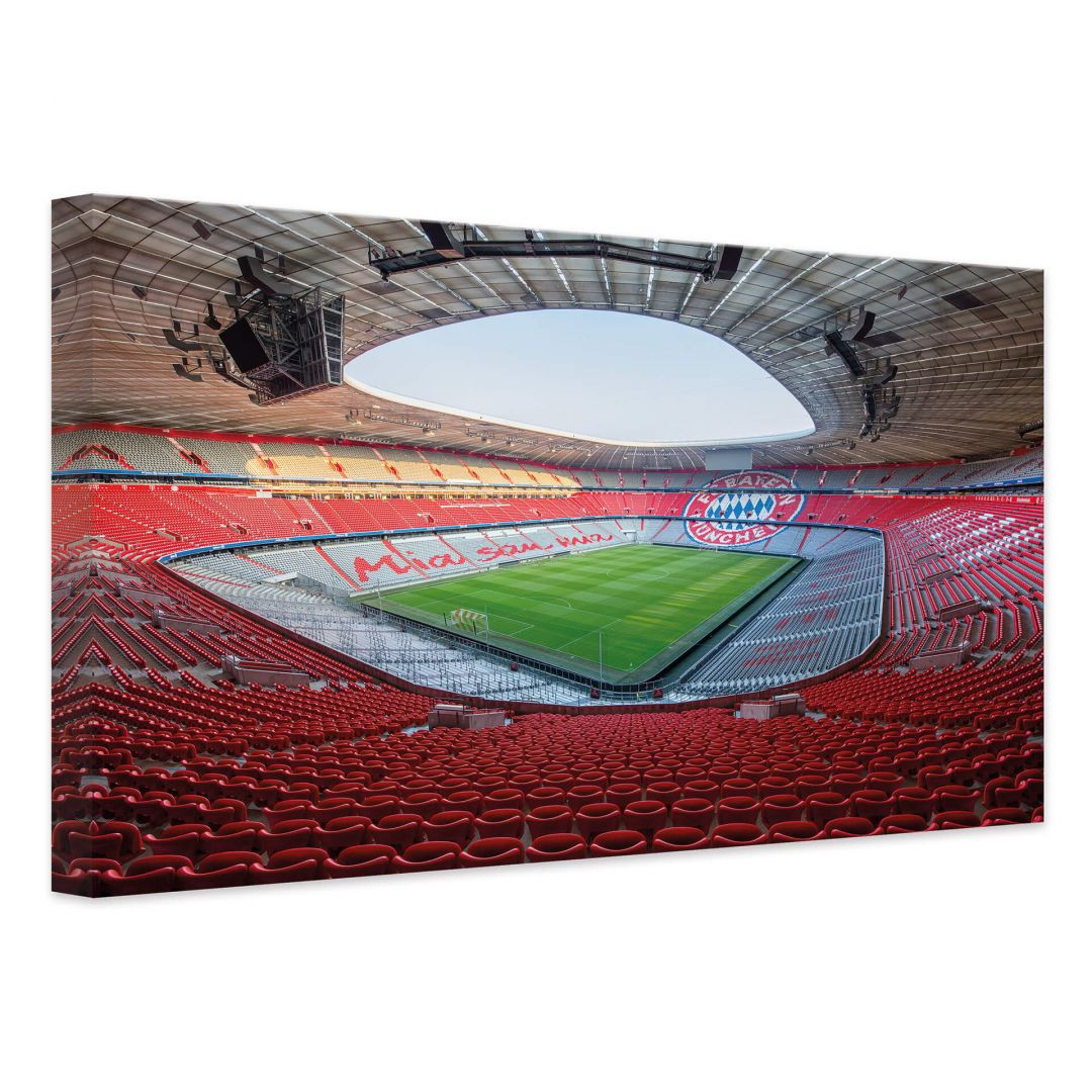 Leinwandbild FCB Stadion Mia san mia - WA254095