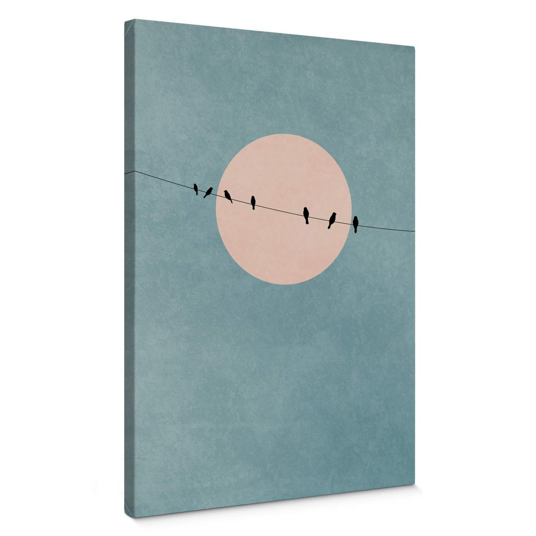 Leinwandbild Kubistika - Die Schönheit der Stille - WA254440