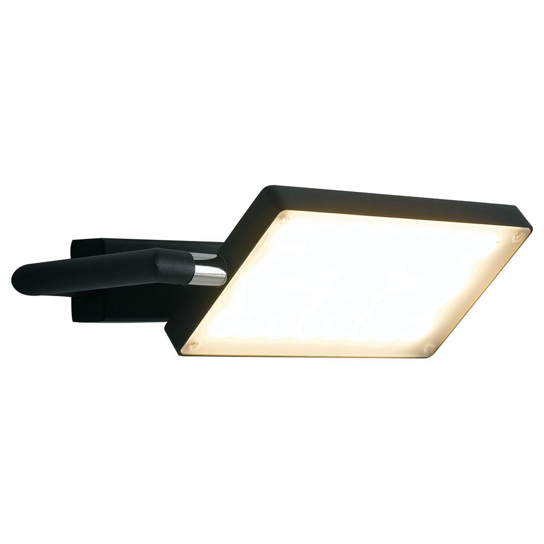 LED Wandleuchte Book in Schwarz 17W 1300lm IP20 - CL129558