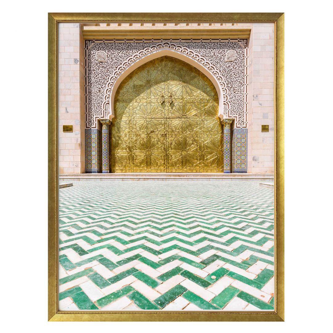 Poster Colombo - Alawi Moschee im Oman - WA257002