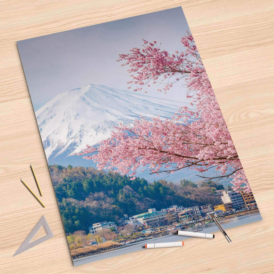 Folienbogen (80x120cm) - Mount Fuji - CR107373
