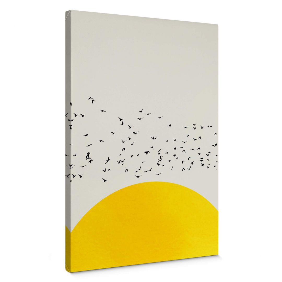 Leinwandbild Kubistika - Tausende Vögel - WA254489