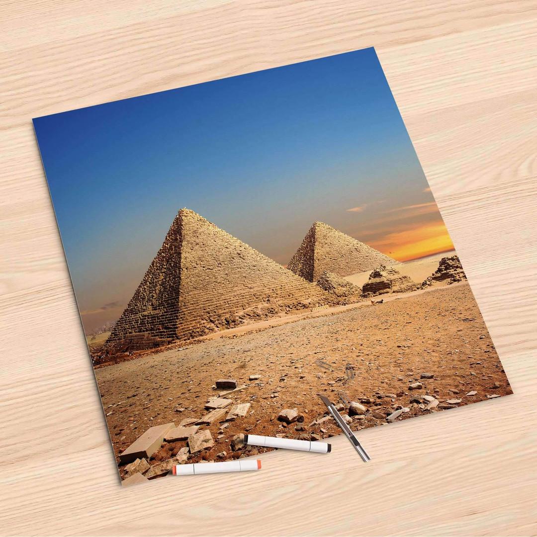 Folienbogen (60x60cm) - Pyramids - CR107164