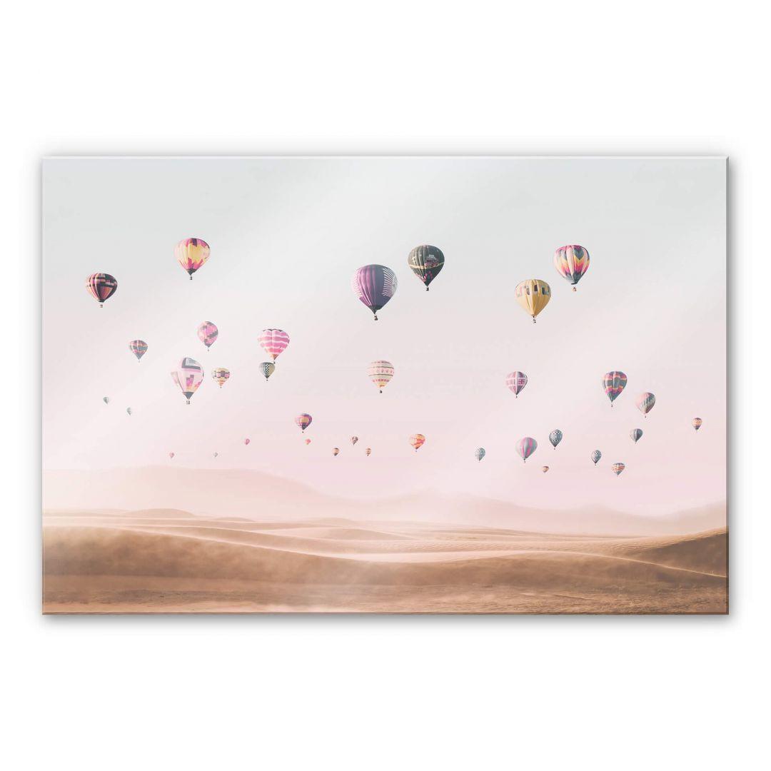 Acrylglasbild Sisi & Seb - Heissluftballons - WA251904