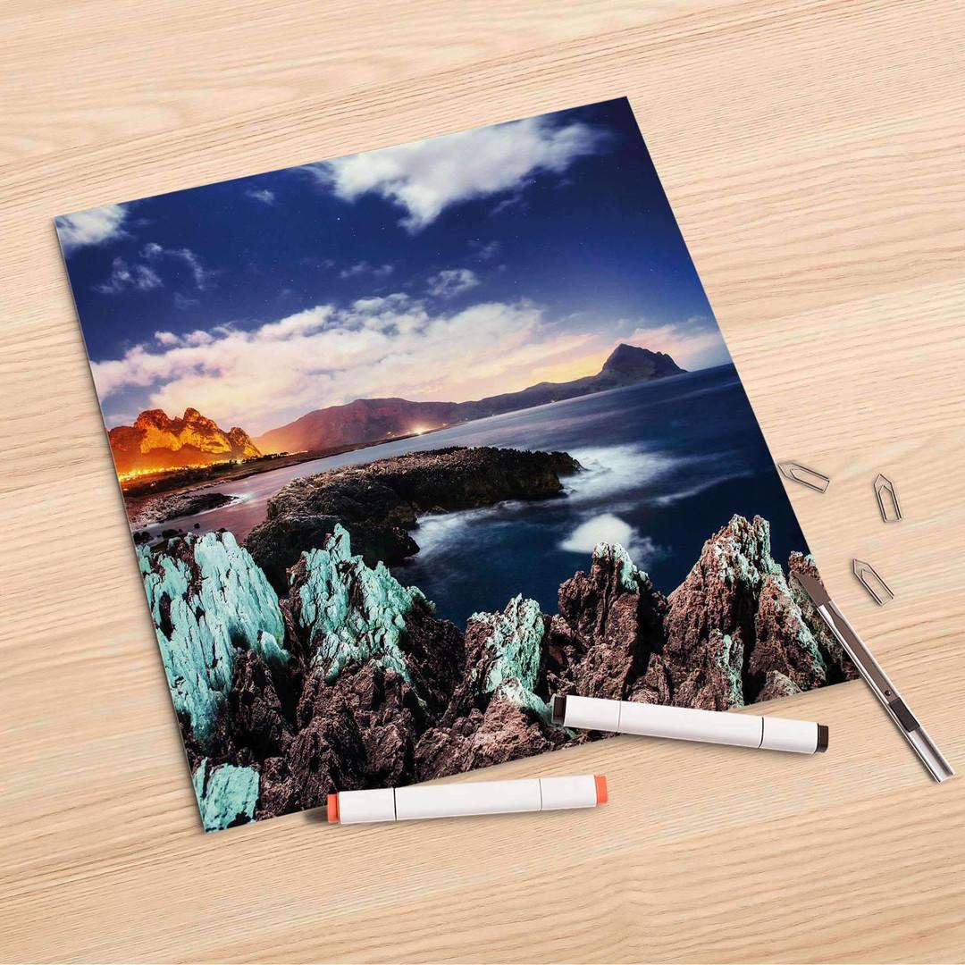 Folienbogen (30x30cm) - Seaside - CR106933