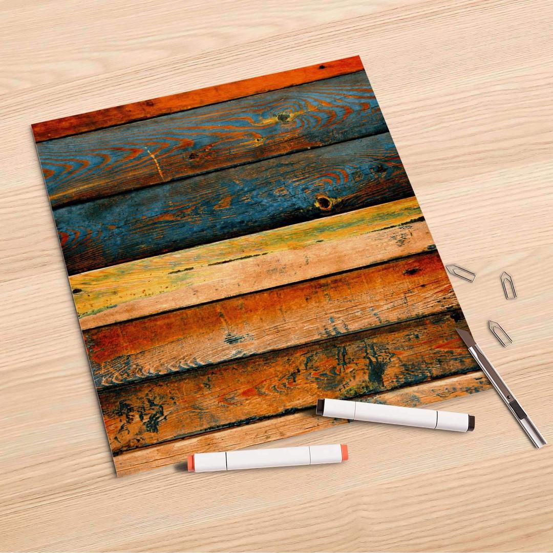 Folienbogen (30x30cm) - Wooden - CR106994