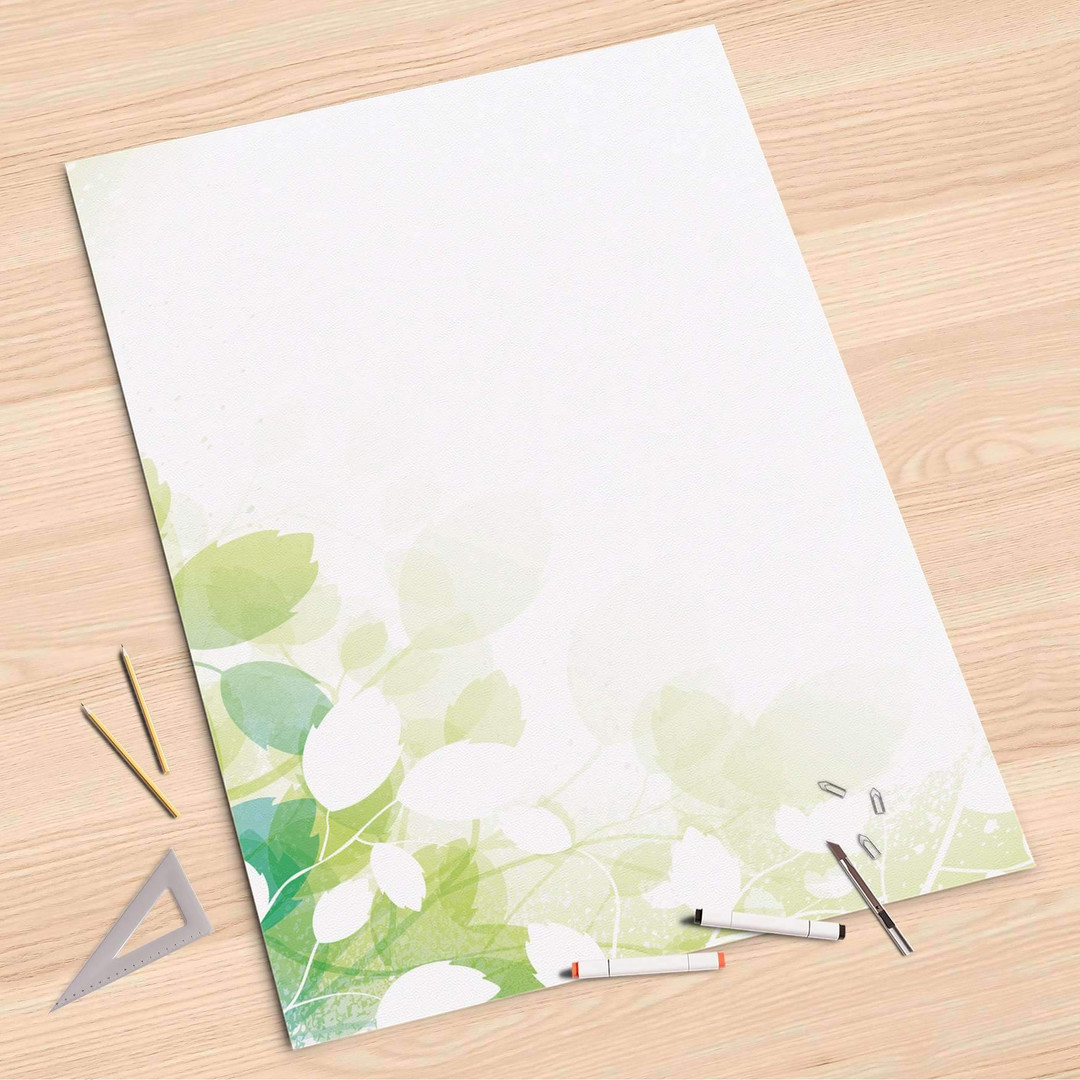 Folienbogen (80x120cm) - Flower Light - CR107316