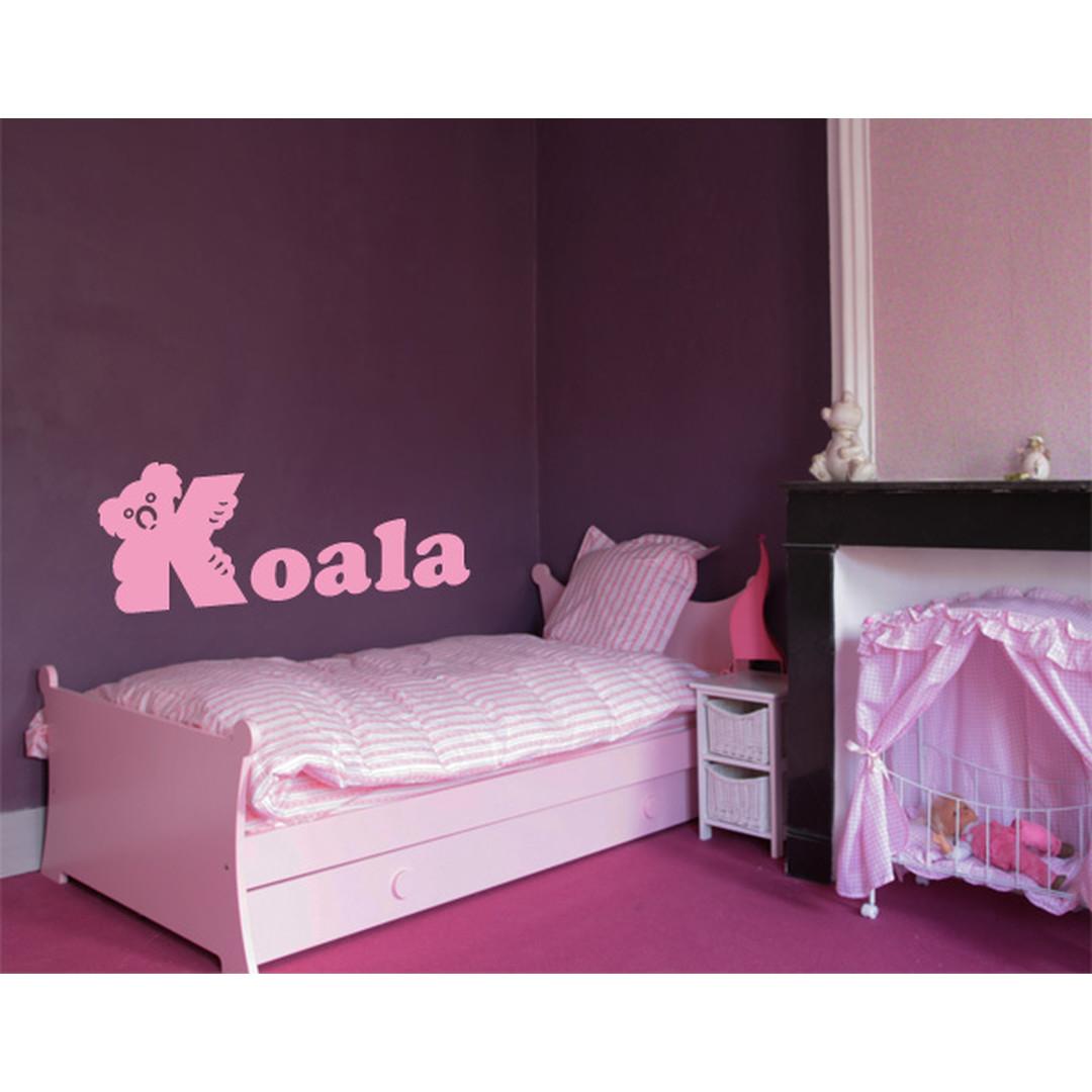 Wandtattoo Buchstaben Koala - TD16832