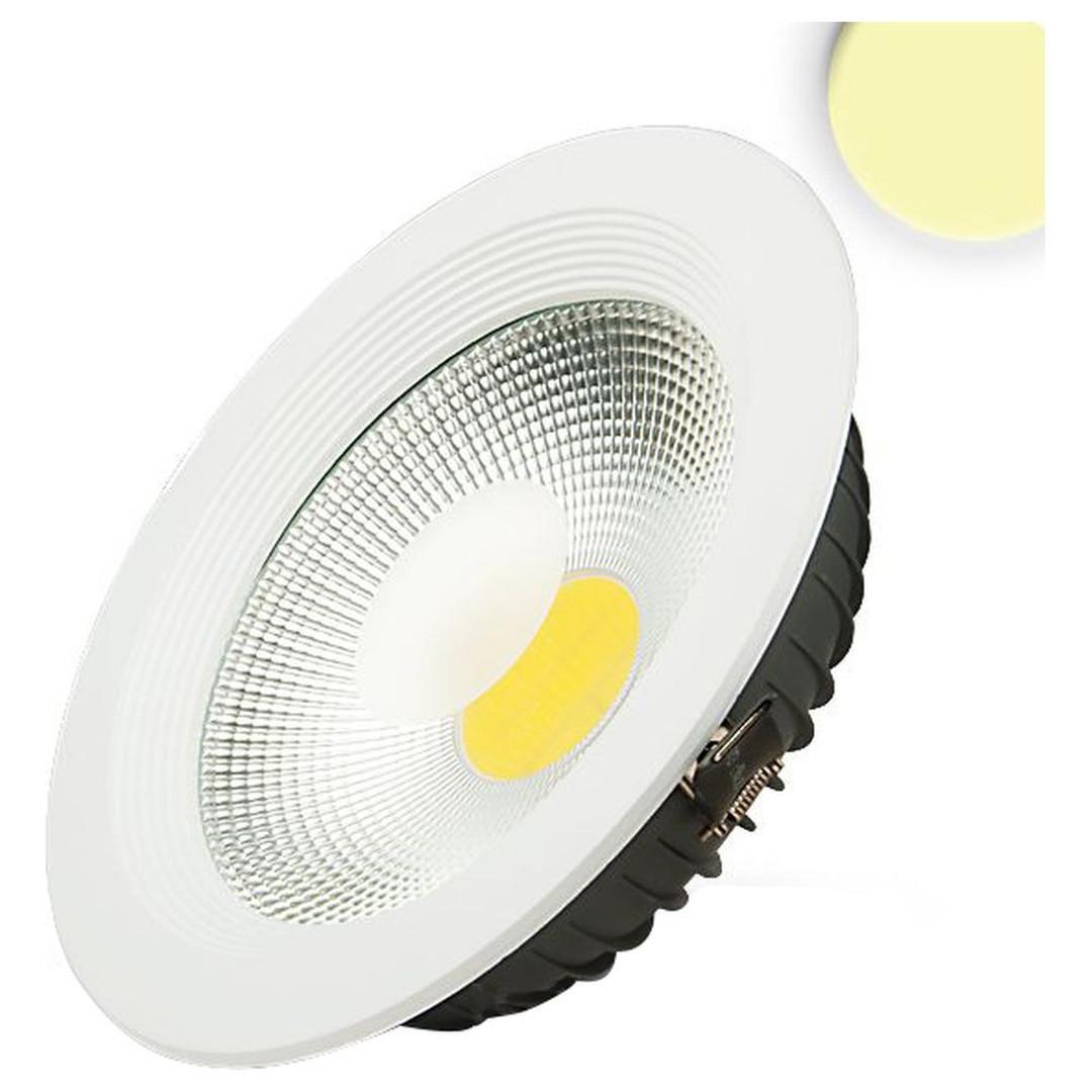 LED COB Reflektor Downlight 30W, 100°, weiss, warmweiss - CL120059