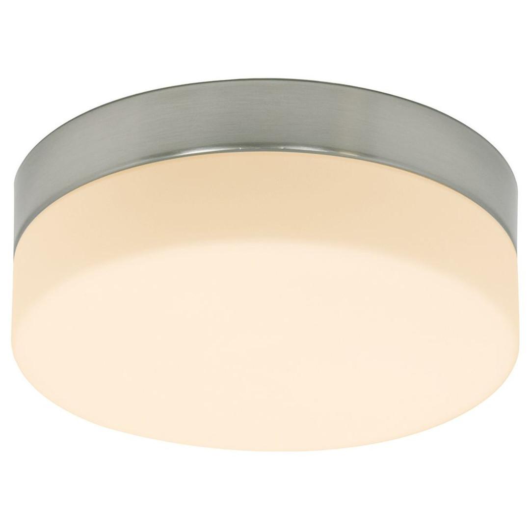 LED Wand- und Deckenleuchte in Silber und Weiss 18W 1440lm IP44 240mm - CL130336
