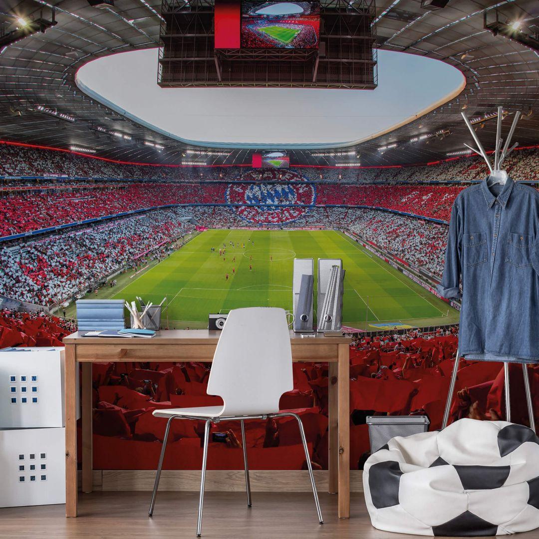 Fototapete FCB Stadion Rot Weiss - WA252469