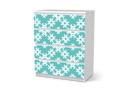 Designfolie Endless Flake (Malm 4 Schubladen)