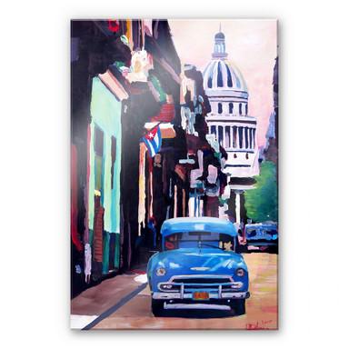 Acrylglasbild Bleichner - Havanna-Feeling