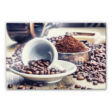 Acrylglasbild Kaffeeträume