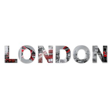 Dekobuchstaben London