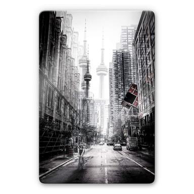 Glasbild Chiriaco - Strassen in Toronto