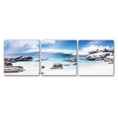 Glasbild Western Cape (3-teilig)