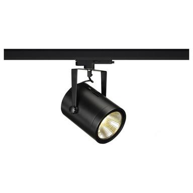 LED 3-Phasenschienen Spot 47W 4800lm 4000K 38° in Schwarz