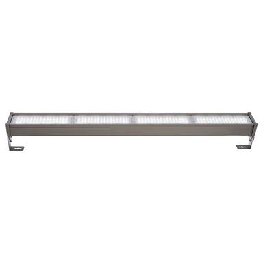 LED Fassadenstrahler Highbay Normae in Dunkelgrau und Transparent-Satiniert 172W 23800lm IP65