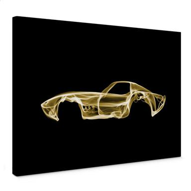 Leinwandbild Mielu - Yellow car
