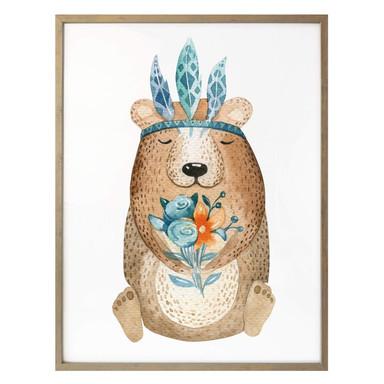 Poster Kvilis - Hippie Bär